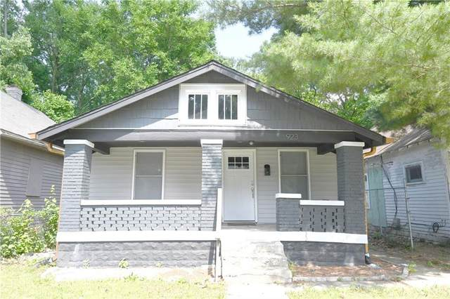 923 Haugh Street, Indianapolis, IN 46222 (MLS #21791665) :: Anthony Robinson & AMR Real Estate Group LLC