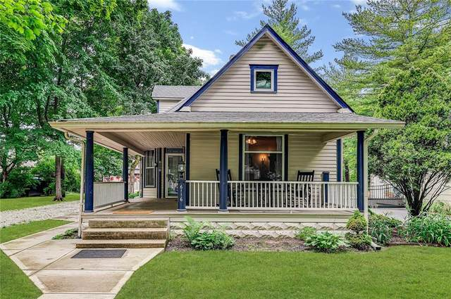 6116 N Guilford Avenue, Indianapolis, IN 46220 (MLS #21791694) :: Pennington Realty Team