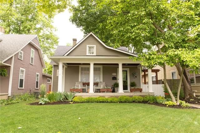 346 N Graham Avenue, Indianapolis, IN 46219 (MLS #21791732) :: Richwine Elite Group