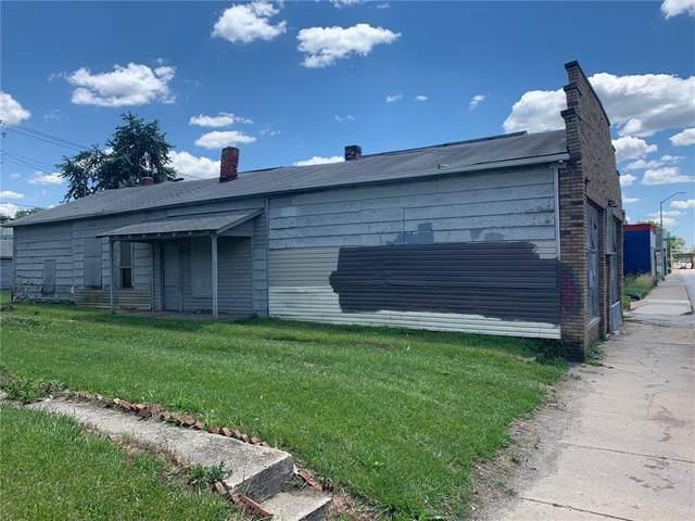 1741 S Meridian Street, Indianapolis, IN 46225 (MLS #21791837) :: Dean Wagner Realtors