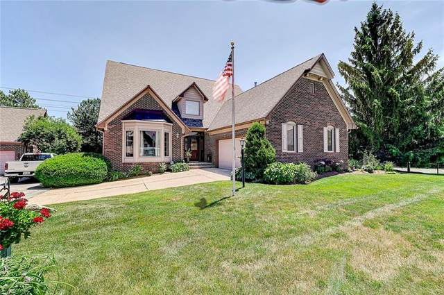 9543 Huntington Lane, Indianapolis, IN 46260 (MLS #21791843) :: Mike Price Realty Team - RE/MAX Centerstone