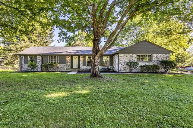 3720 Briarwood Drive, Indianapolis, IN 46240 (MLS #21791896) :: The ORR Home Selling Team