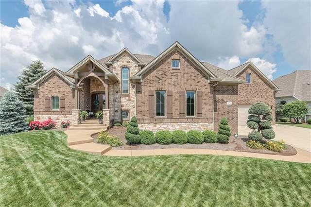 4526 Heather Wood Boulevard, Greenwood, IN 46142 (MLS #21791937) :: Mike Price Realty Team - RE/MAX Centerstone