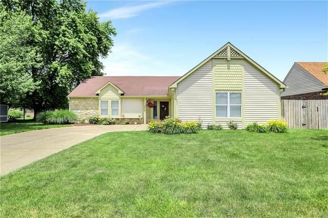 3510 Oak Tree Circle, Indianapolis, IN 46227 (MLS #21791966) :: Dean Wagner Realtors