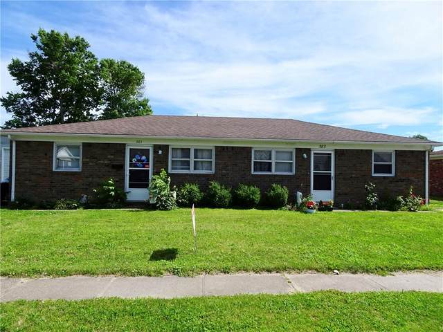 381-383 Duo Drive, Martinsville, IN 46151 (MLS #21791970) :: The Indy Property Source