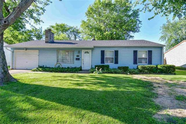 7918 E 34th Street, Indianapolis, IN 46226 (MLS #21791989) :: The ORR Home Selling Team
