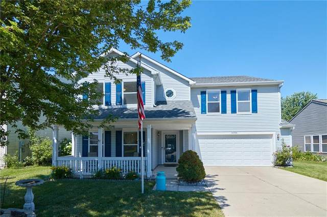 14266 Holly Berry Circle, Fishers, IN 46038 (MLS #21791994) :: Dean Wagner Realtors