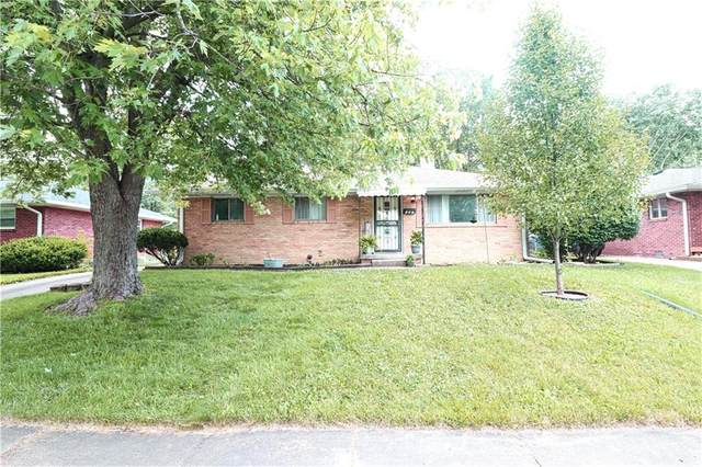 357 Gilbert Street, Beech Grove, IN 46107 (MLS #21792040) :: Mike Price Realty Team - RE/MAX Centerstone