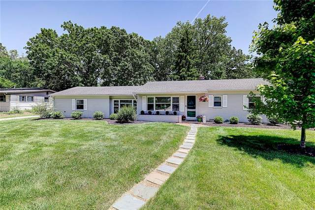 7221 Williams Creek Drive, Indianapolis, IN 46240 (MLS #21792075) :: The ORR Home Selling Team