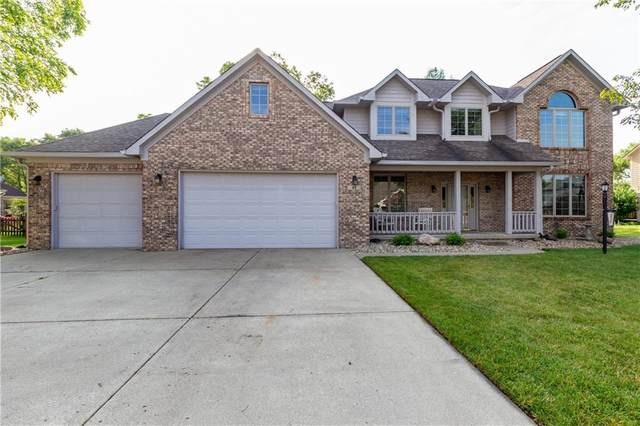 45 Trotters Run, Brownsburg, IN 46112 (MLS #21792092) :: Mike Price Realty Team - RE/MAX Centerstone