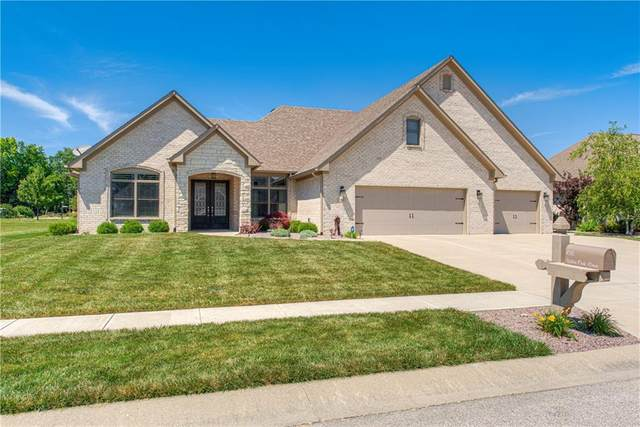 1018 White Oak Drive, Plainfield, IN 46168 (MLS #21792097) :: The Indy Property Source