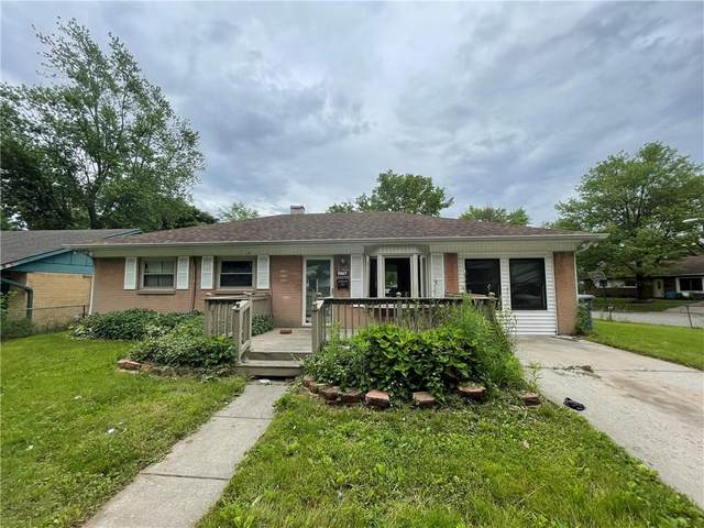 7417 E 35th Street, Indianapolis, IN 46226 (MLS #21792131) :: The ORR Home Selling Team
