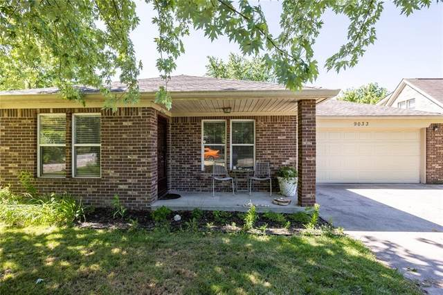 9033 E 12th Street, Indianapolis, IN 46229 (MLS #21792135) :: The ORR Home Selling Team