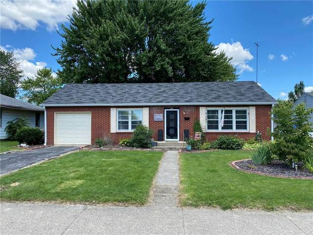 616 W Park Avenue, Greenfield, IN 46140 (MLS #21792141) :: Mike Price Realty Team - RE/MAX Centerstone