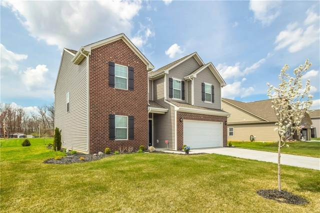 110 Blue Lace Drive, Whiteland, IN 46184 (MLS #21792190) :: The ORR Home Selling Team