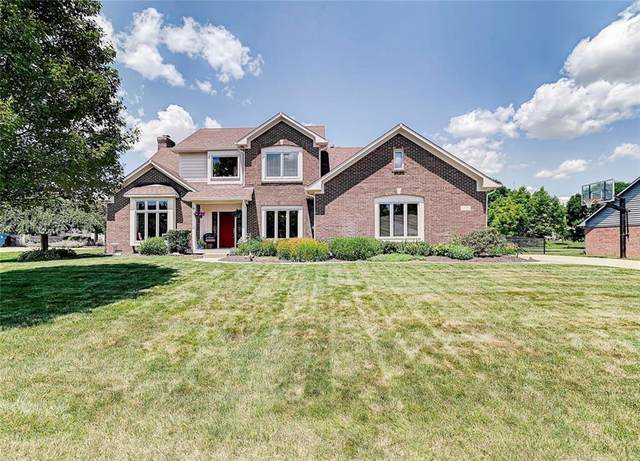 7416 Franklin Parke Boulevard, Indianapolis, IN 46259 (MLS #21792198) :: Ferris Property Group