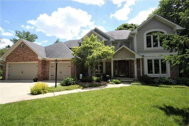 12335 Old Stone Drive, Indianapolis, IN 46236 (MLS #21792290) :: Dean Wagner Realtors