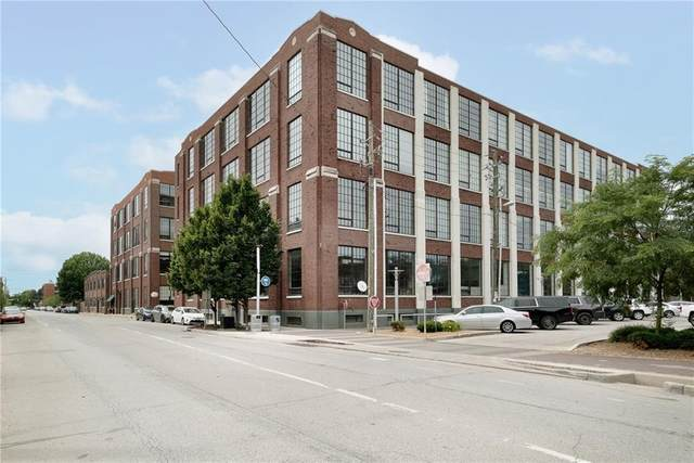 624 E Walnut Street #13, Indianapolis, IN 46204 (MLS #21792301) :: Mike Price Realty Team - RE/MAX Centerstone