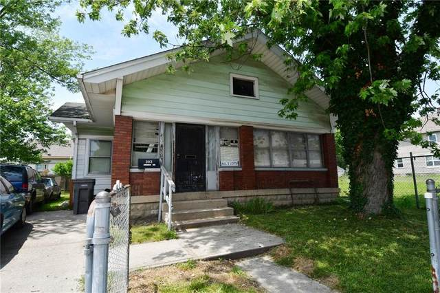 302 N Keystone Avenue, Indianapolis, IN 46201 (MLS #21792347) :: Anthony Robinson & AMR Real Estate Group LLC
