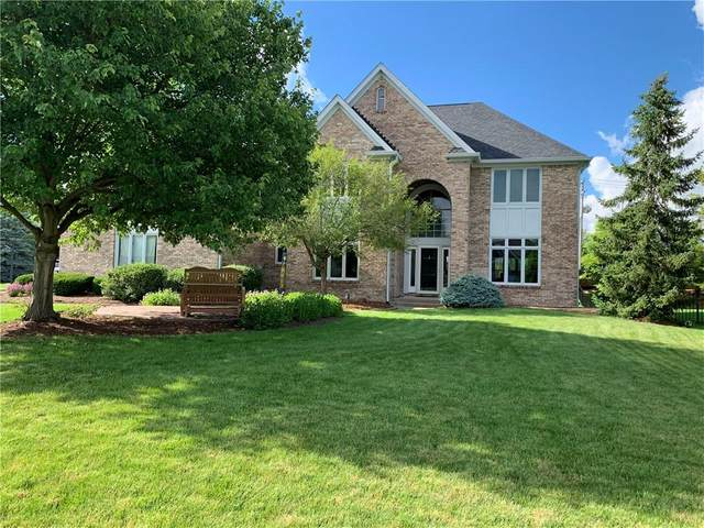 12537 Pebblepointe Pass, Carmel, IN 46033 (MLS #21792379) :: The ORR Home Selling Team