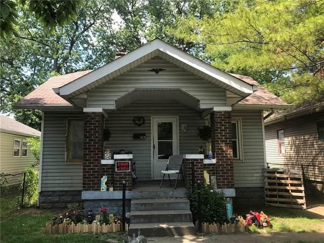 1334 Calhoun Street, Indianapolis, IN 46203 (MLS #21792384) :: Dean Wagner Realtors