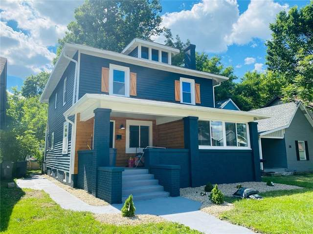 106 N Dequincy Street, Indianapolis, IN 46201 (MLS #21792412) :: The ORR Home Selling Team