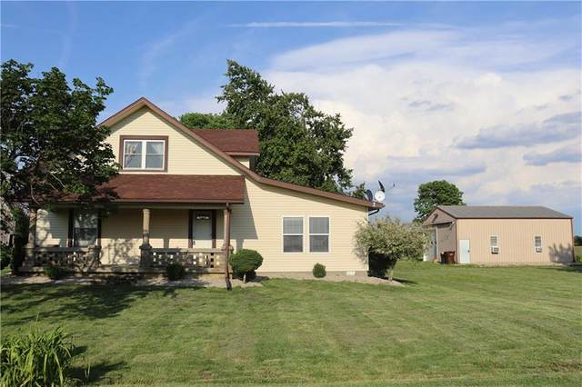 5364 N 550 W, Rushville, IN 46173 (MLS #21792421) :: Mike Price Realty Team - RE/MAX Centerstone