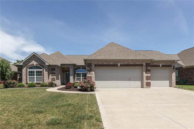 4686 Shady Ridge Row, Greenwood, IN 46143 (MLS #21793437) :: The Indy Property Source