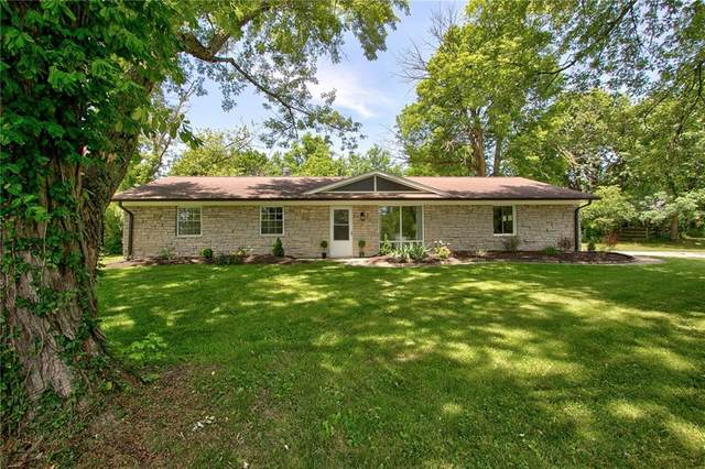 6802 Fairwood Drive, Indianapolis, IN 46256 (MLS #21793465) :: Mike Price Realty Team - RE/MAX Centerstone