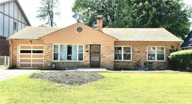 435 W Hampton Drive, Indianapolis, IN 46208 (MLS #21793466) :: Mike Price Realty Team - RE/MAX Centerstone