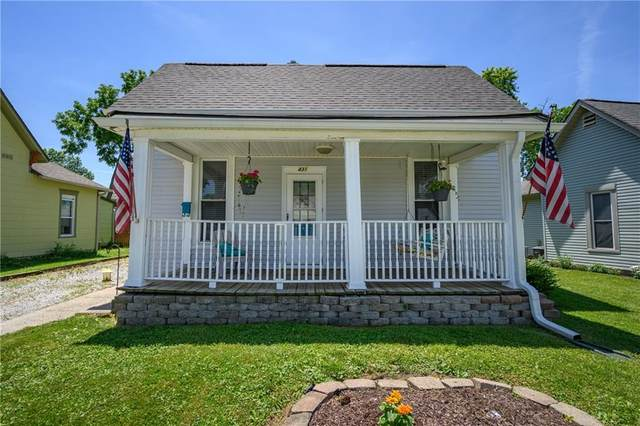 431 W Wiley Street, Greenwood, IN 46142 (MLS #21793542) :: Ferris Property Group