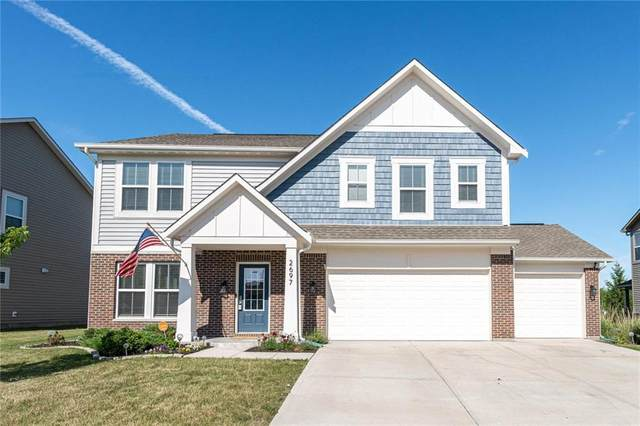 2697 Solidago Drive, Plainfield, IN 46123 (MLS #21793547) :: AR/haus Group Realty