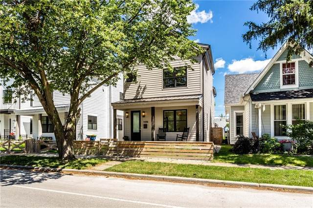 1406 E 10th Street, Indianapolis, IN 46201 (MLS #21793585) :: Mike Price Realty Team - RE/MAX Centerstone