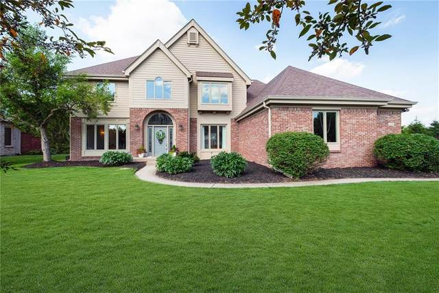1538 Corniche Drive, Zionsville, IN 46077 (MLS #21793601) :: The Indy Property Source