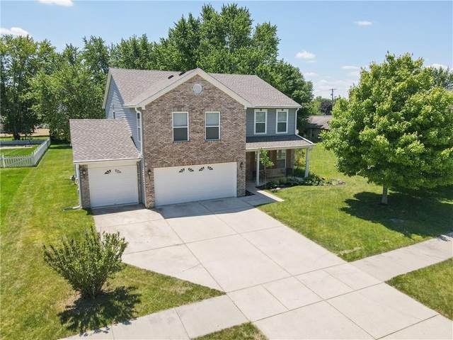 1017 E Mcclarnon Drive, Greenfield, IN 46140 (MLS #21793654) :: AR/haus Group Realty