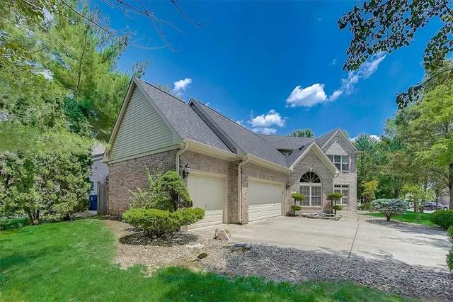 5211 Thrasher Drive, Indianapolis, IN 46254 (MLS #21793655) :: Mike Price Realty Team - RE/MAX Centerstone