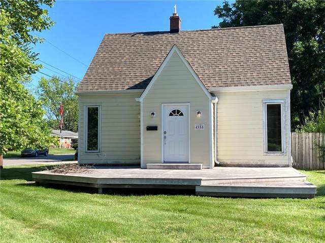 4958 Mccray Street, Speedway, IN 46224 (MLS #21793675) :: Mike Price Realty Team - RE/MAX Centerstone