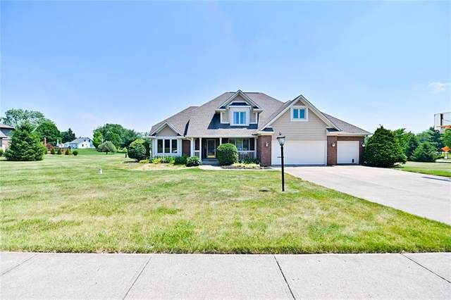 9343 Whispering Trace, Brownsburg, IN 46112 (MLS #21793678) :: Mike Price Realty Team - RE/MAX Centerstone