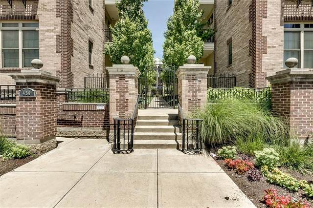 450 E Ohio Street #301, Indianapolis, IN 46204 (MLS #21793697) :: Anthony Robinson & AMR Real Estate Group LLC