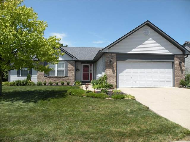 358 Bear Story Boulevard, Greenfield, IN 46140 (MLS #21793702) :: AR/haus Group Realty
