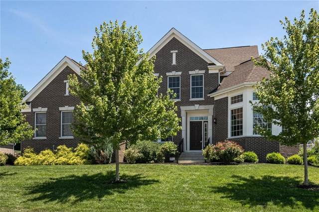 10599 Geist View Drive, Fishers, IN 46055 (MLS #21793743) :: Mike Price Realty Team - RE/MAX Centerstone