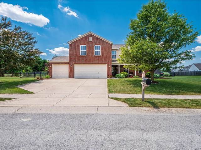 880 Stonehenge Way, Brownsburg, IN 46112 (MLS #21793764) :: Mike Price Realty Team - RE/MAX Centerstone