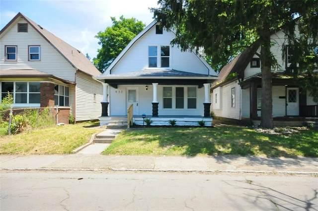 931 N Oakland Avenue, Indianapolis, IN 46201 (MLS #21793781) :: The Indy Property Source