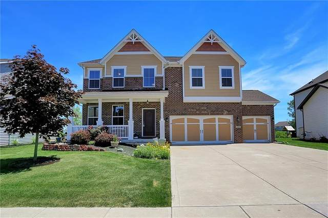 7727 Eagle Point Circle, Zionsville, IN 46077 (MLS #21793803) :: Mike Price Realty Team - RE/MAX Centerstone