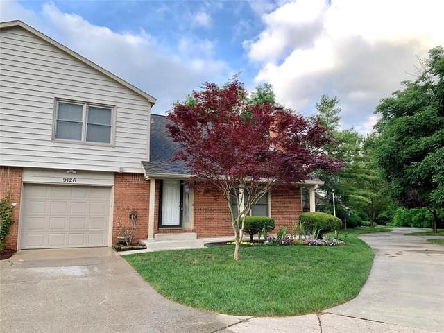 9126 Cinnebar Drive, Indianapolis, IN 46268 (MLS #21793879) :: Anthony Robinson & AMR Real Estate Group LLC
