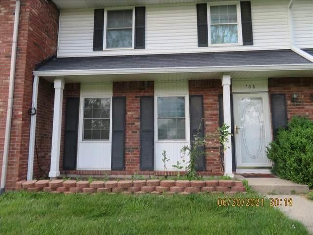 708 E Thompson Road, Indianapolis, IN 46227 (MLS #21794077) :: Pennington Realty Team
