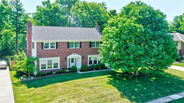 11611 Forest Drive, Carmel, IN 46033 (MLS #21794107) :: Quorum Realty Group