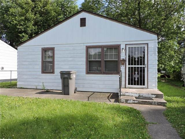 3643 W 14th Street, Indianapolis, IN 46222 (MLS #21794111) :: Mike Price Realty Team - RE/MAX Centerstone