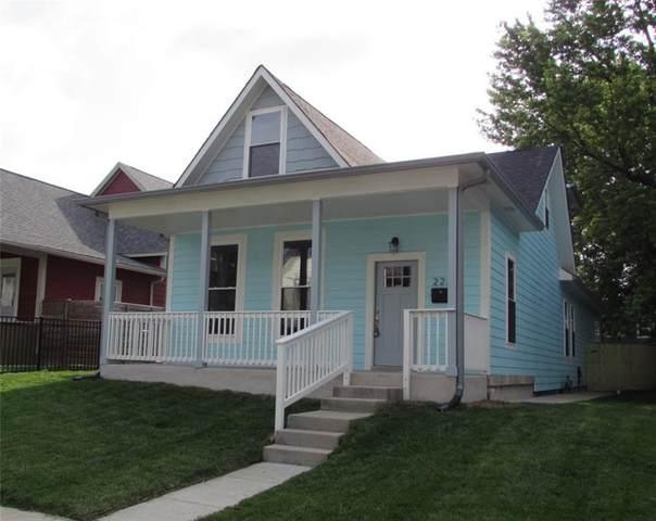 223 N Summit Street, Indianapolis, IN 46201 (MLS #21794131) :: Pennington Realty Team