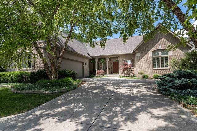 8024 Oakhaven Place, Indianapolis, IN 46256 (MLS #21794201) :: Mike Price Realty Team - RE/MAX Centerstone
